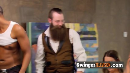 Swingers attend reality show on national TV