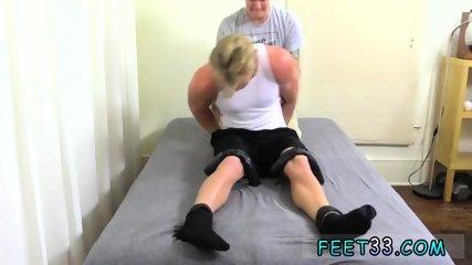 Boys suck feet gay 6 3 Hunk Seamus Tickled
