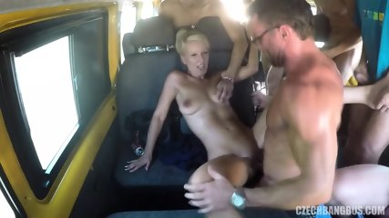 Gang Bang In Bus