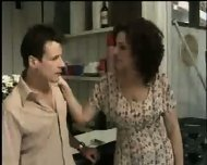Wife forces Husband to fuck a Girl - scene 2