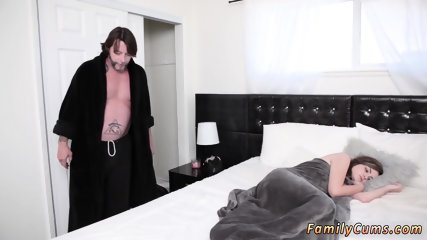 Public sex for money first time Sneaky And Sleepy Step Sex