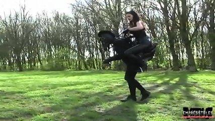 PONY PLAY HUMAN HORSE AND DOMINATRIX DINAH