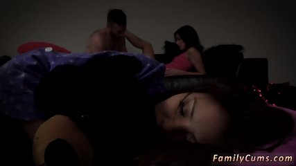 Teen pounded by white cock and movie hot sex scene Slumber Party With Stepdad