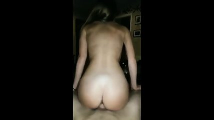 Sexy 18 Yr Old Riding Reverse Cowgirl- HOT!