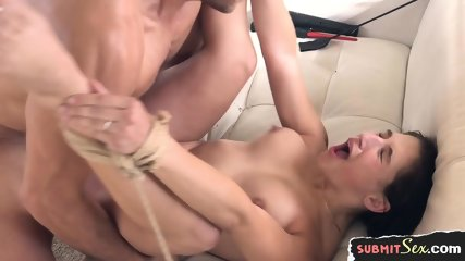 Facialized Young Slut Gets Hardfucked