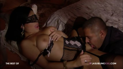 Blindfolded Girl Used By Horny Guys