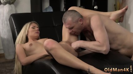 Hairy daddy bear first time She is so fabulous in this short skirt