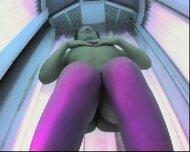 Solarium spycam - scene 9