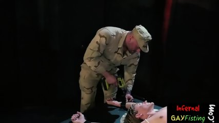 Submissive twink gets night stick up the ass