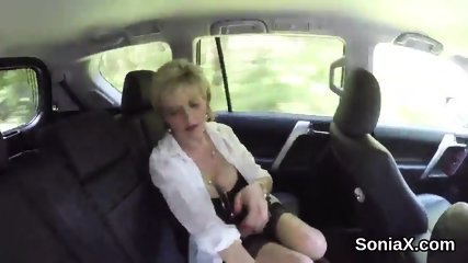 Unfaithful british mature lady sonia flaunts her oversized titties