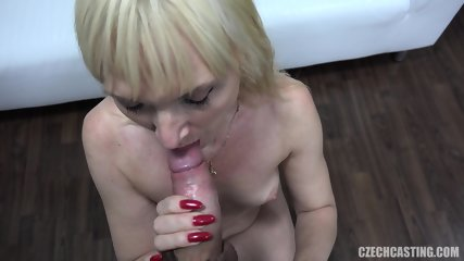 Mature Blonde Pounded At Casting