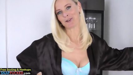 Delicious Horny MILF Made Her Young Roommate Cum Twice