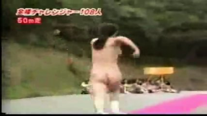 Nudist Japanese running - scene 3
