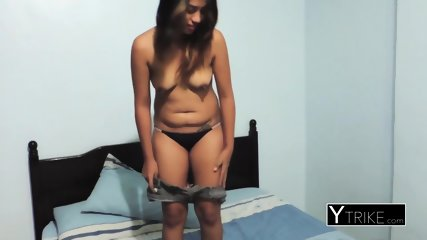 Tattooed SMALL-TITTED TEEN gets pounded hardcore by horny dude