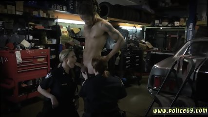 Milf and younger girl threesome Chop Shop Owner Gets Shut Down