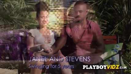 Couples swap partners in a reality show on national TV
