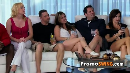 Amateur swingers go to a sexual show in the Red Orgy Room. New episodes of american open swing house