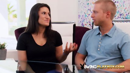 Amateur swingers perform sexy scenes in the Red Orgy Room. New episodes of american open swing house