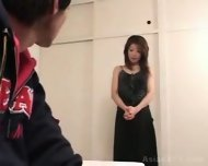 Asian Incest Pretty mommy and son - scene 1