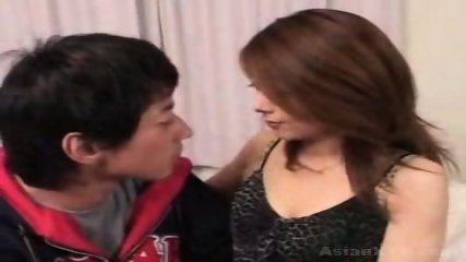 Asian Incest Pretty mommy and son - scene 2