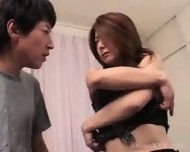 Asian Incest Pretty mommy and son - scene 3