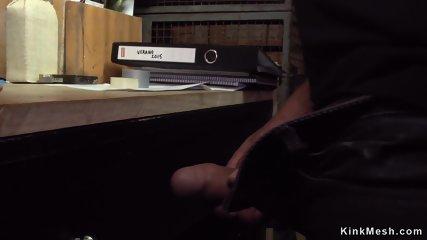 Babe dp fucked in cut leggings in public