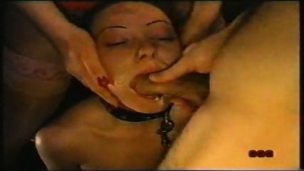 Bondage Girl forced to suck - scene 8