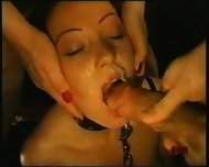 Bondage Girl forced to suck - scene 9
