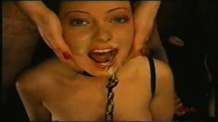 Bondage Girl forced to suck - scene 10