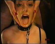 Bondage Girl forced to suck - scene 11
