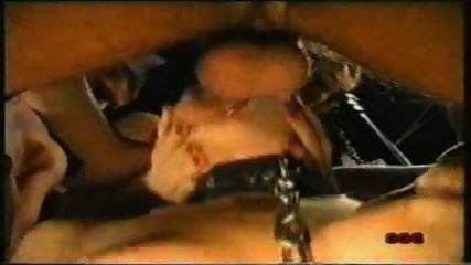 Bondage Girl forced to suck - scene 2