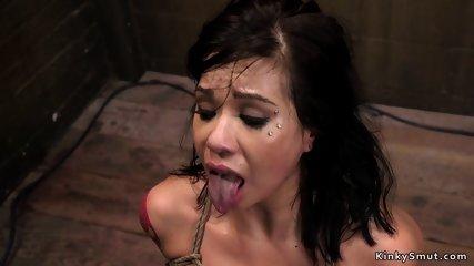Alt slave anal fucked in bondage