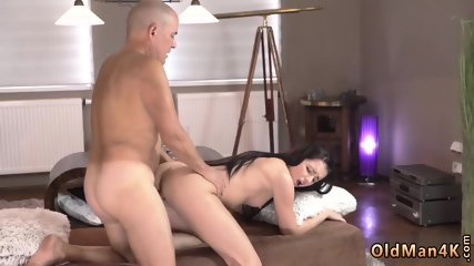 Daddy outdoor and old hairy pussy fuck Vacation in mountains