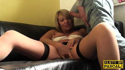 Teaching innocent girl slut load