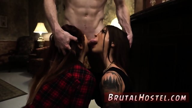 Extreme german anal sex and petite gloryhole bdsm Excited young tourists Felicity Feline