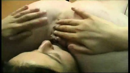 Lesbians have Fun with Double Dildo - scene 8