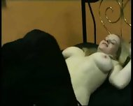 Lesbians have Fun with Double Dildo - scene 2