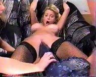 Blonde wants Monster Dildo - scene 12