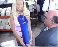 Blonde wants Monster Dildo - scene 2