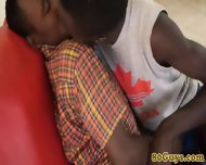 African Barebackers Deep Throating - scene 5