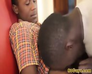 African Barebackers Deep Throating - scene 6