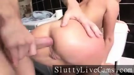 Blonde Russian Anal Teen