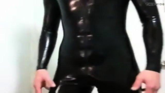 Rubber Silicone Catsuit
