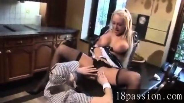 Maid fucks femme sherlock