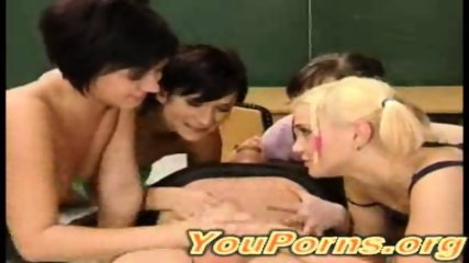 Teacher with 4 Girls - scene 12