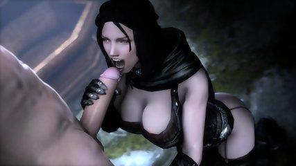 Skyrim Porn HMV - Serana The Best Sucking Big Dick