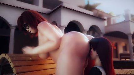 OVERWATCH SEX SFM - MEI X DVA SUPER FINGER FUCK