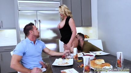 Dad ally s daughter school and fucking  beside sleeping mom Army Boy Meets Busty Stepmom