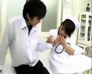 Busty Nurse - scene 3