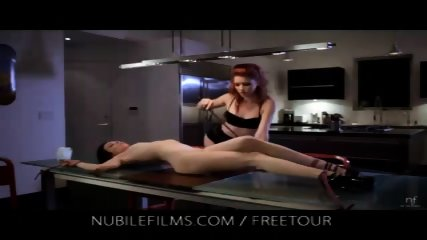 Devilish Elle fucks her lesbian partner with interest